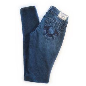 "TRUE RELIGION   ""Stella"" Skinny Jeans"